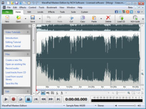 WavePad Sound Editor 10.85 Crack with Registration Code Download